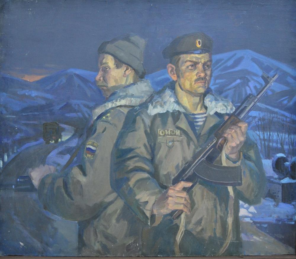 «Портрет бойцов ОМОНа»