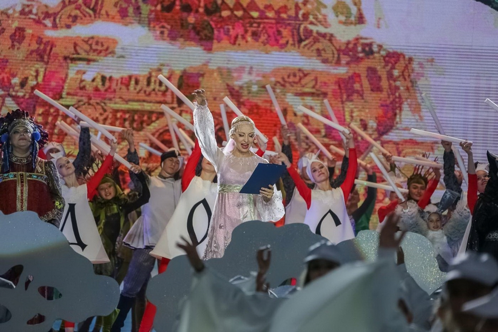 Талантливых детей Илзе Лиепа собрала в спектакле «Лесная история».