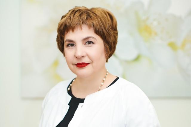 Главврач Центра Наталья Орлова.