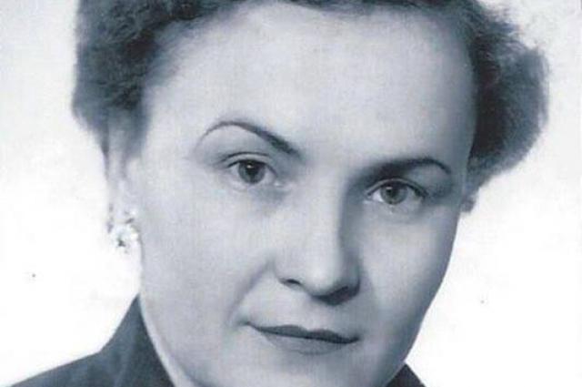 Екатерина Балина в молодости.