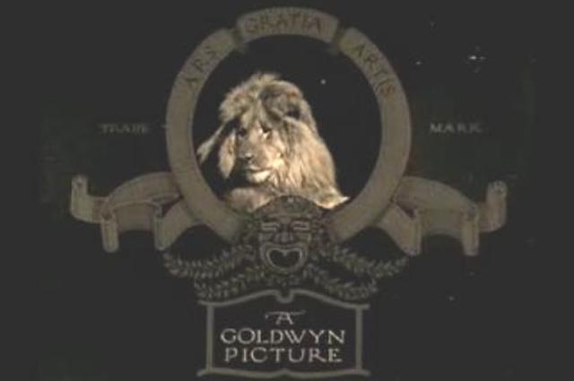 Логотип Metro-Goldwyn-Mayer с 1916 по 1928 год (лев Слетс).