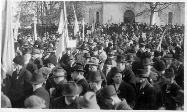 Первое празднование Дня Соборности 22 января 1939 г. В г. Хуст.