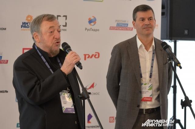 Павел Лунгин и Алексей Комиссаров.
