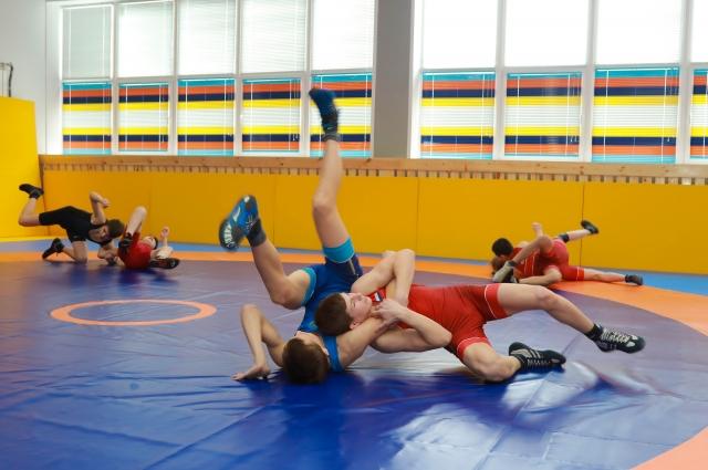 Возможно, на ковре будущие чемпионы.