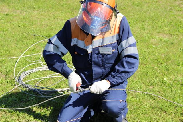 Этап 5. ВЛ 6-10 кВ Ф 603 опора №22 – опора №23 устранение обрыва линейного провода