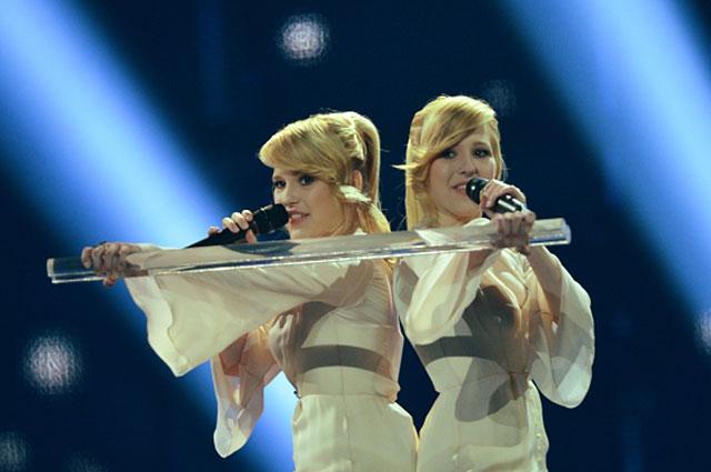 Сёстры Толмачёвы в финале конкурса Евровидение