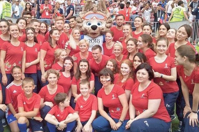 На Чемпионате мира по футболу работали 18 добровольцев из Брянской области.