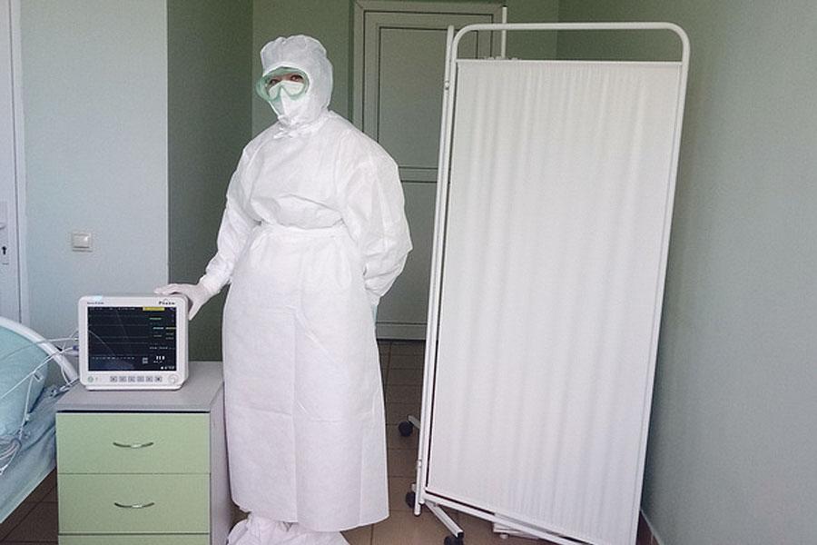 Медики Тамбовской ЦРБ получают новое оборудование для лечения больных с коронавирусом.