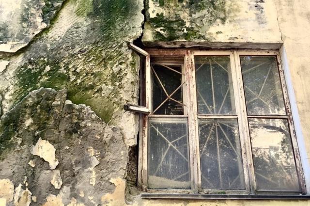 Фасад «Опытного дома №6» в наши дни. Внутри больше нет жилых помещений, сегодня там офисы.