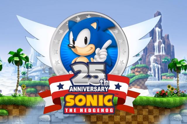 Еж Соник - главный персонаж серии видеоигр Sonic the Hedgehog.
