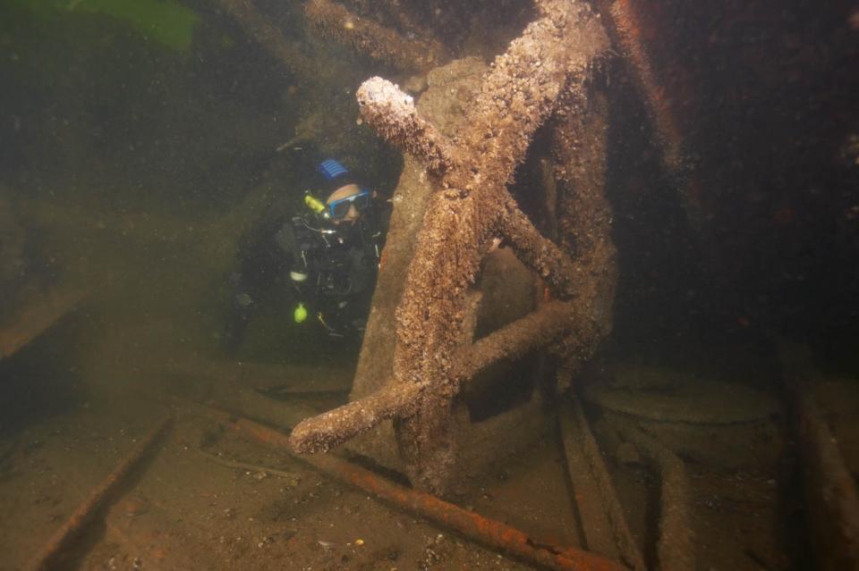 13:05 09/09/2014  0 28417    Море погибших кораблей. Что скрывают холодные воды Балтики