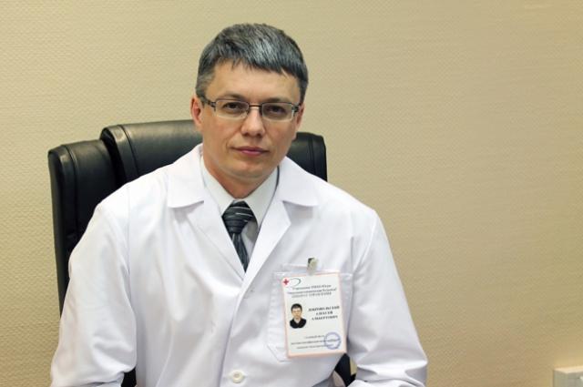 Новый директор департамента здравоохранения Югры Алексей Добровольский.