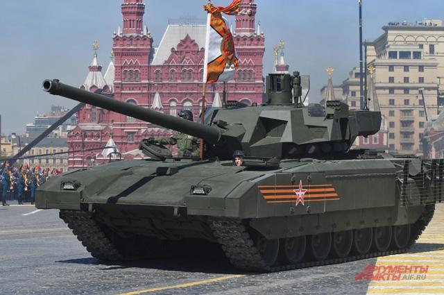 Танк 5-го поколения Т-14 Армата станет родоначальником целого семейства бронетехники