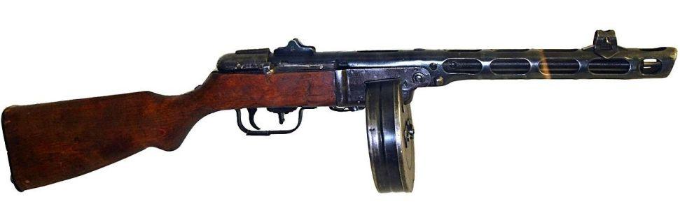 Пистолет-пулемёт Шпагина, ППШ-41