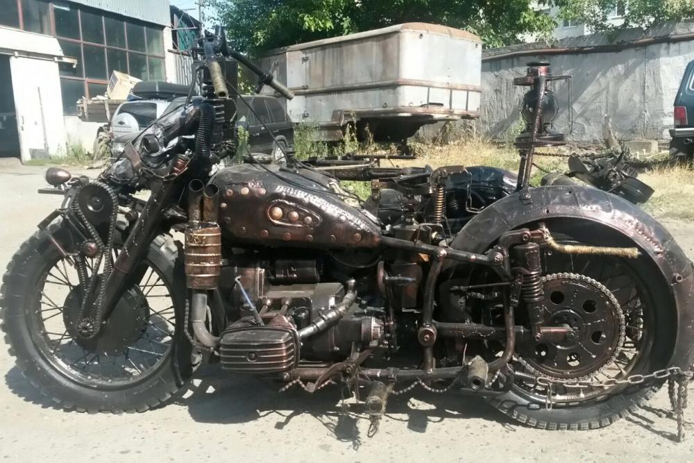 Мотоцикл «Сrazy bike».