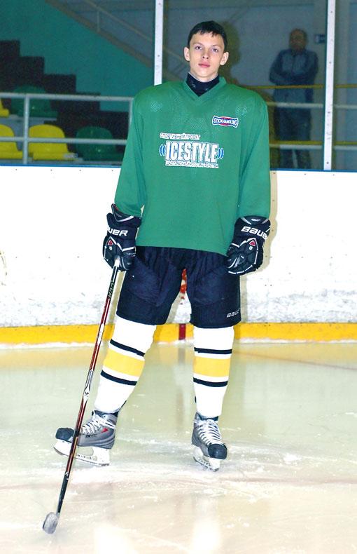 Александр Возженников - воспитанник пермского хоккейного клуба