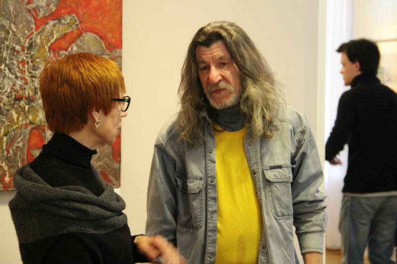 Алексей Соколов с почитательницей своего таланта.