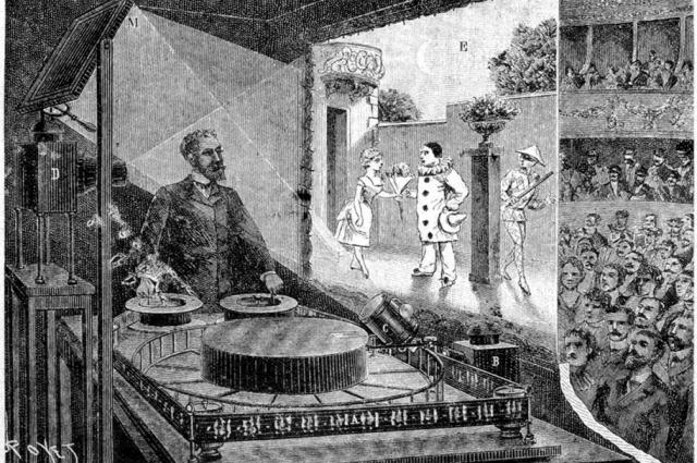 В конце 19 века Эмиль Рейно поразил широкие массы своими первыми мультфильмами.