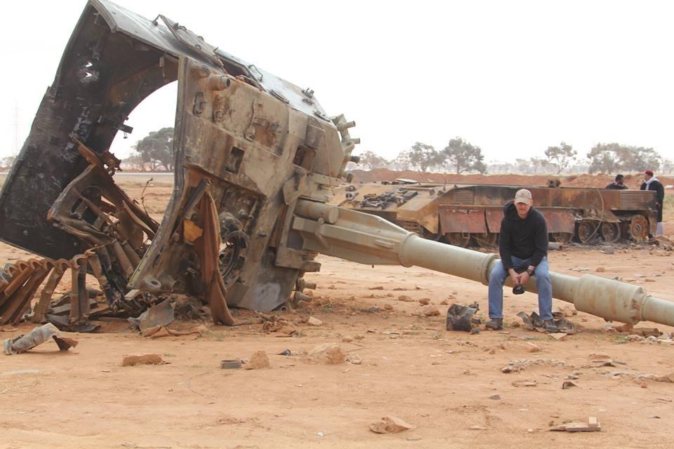 Ливия. Под Бенгази.