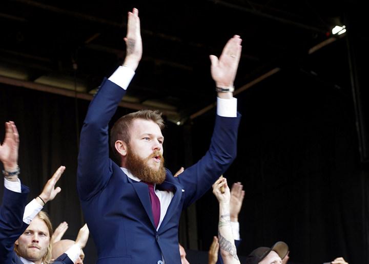 Игрок сборной Исландии Арон Гуннарссон