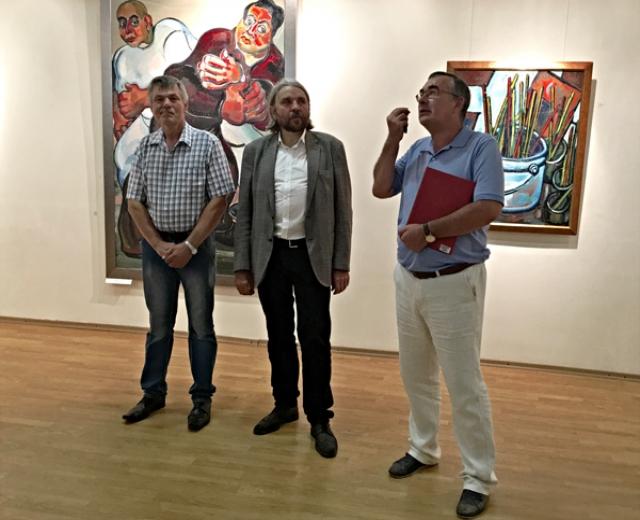 Николай Москалёв, Евгений Ромашко и Юрий Киселёв.