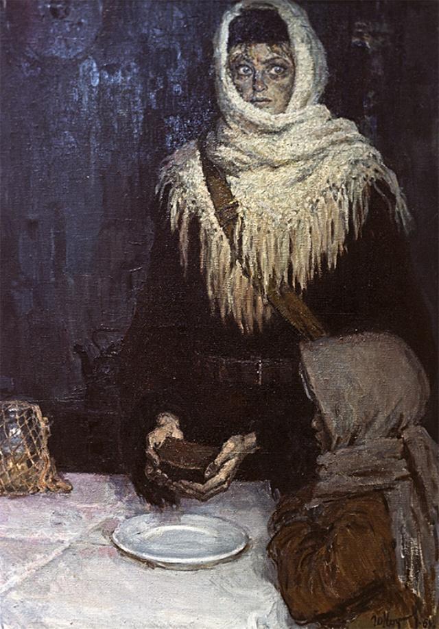 Работа известна по циклу «Ленинградцы».