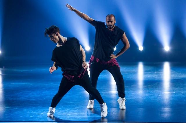 На проекте Даян танцевал с наставником - Мигелем.