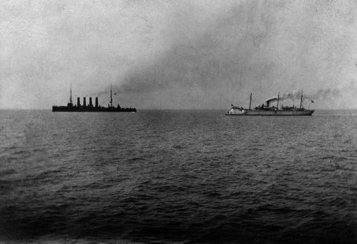 Варяг и Кореец идут в бой, 9 февраля 1904 года