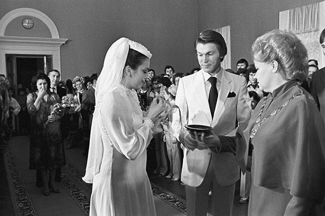 Свадьба Олега Блохина и Ирины Дерюгиной.
