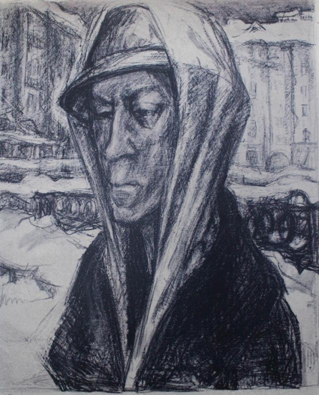 Жители Ленинграда были измождены от голода и холода.