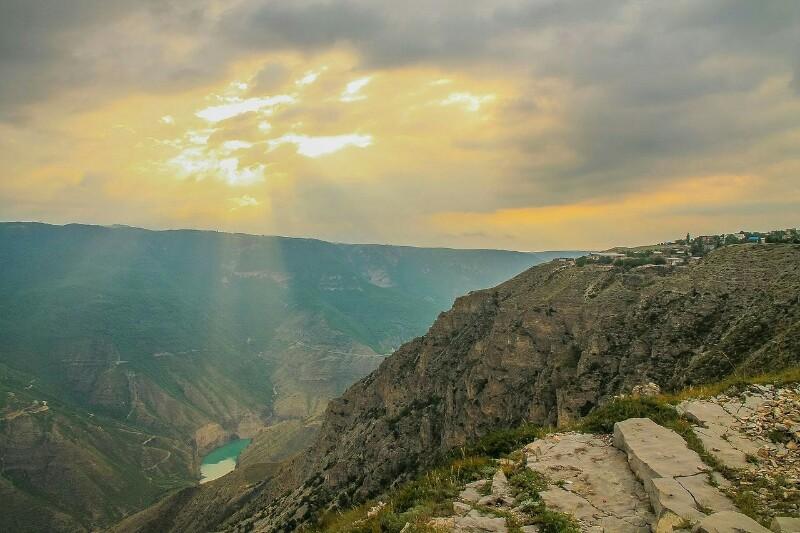 Дагестан, сулакский каньон
