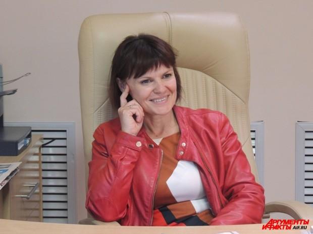 Начальник управления информации и связей с общественностью ВДЦ Орлёнок Ирина Калищук