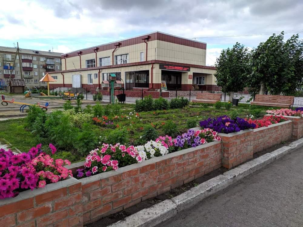 Школы и дом культуры в районе стараются отремонтировать и сделать привлекательными.
