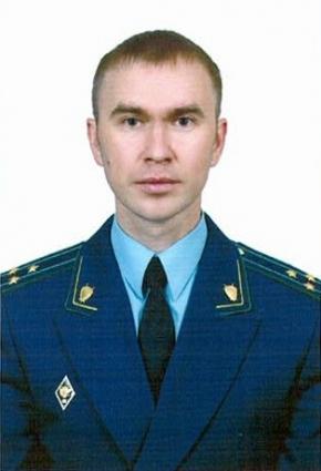 Старший советник юстиции Владимир Большунов.