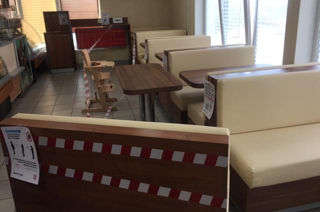 Кафе закрыли даже для отпуска продуктов на вынос, после вмешательства полиции