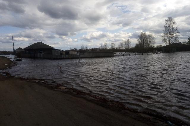 Деревня Малые Конданы.