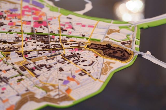 Количество жителей в центре города возрастет с 45 до 75 тысяч, плотность населения увеличится от 20 до 40 человек на гектар.