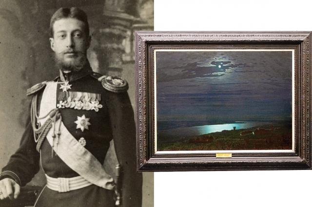 «Лунная ночь на Днепре» и ее первый владелец - Великий князь Константин Константинович.