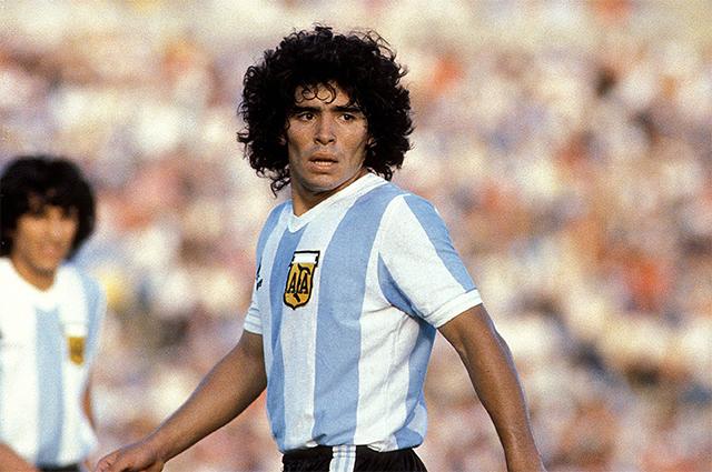 Диего Марадона. 1981 г.