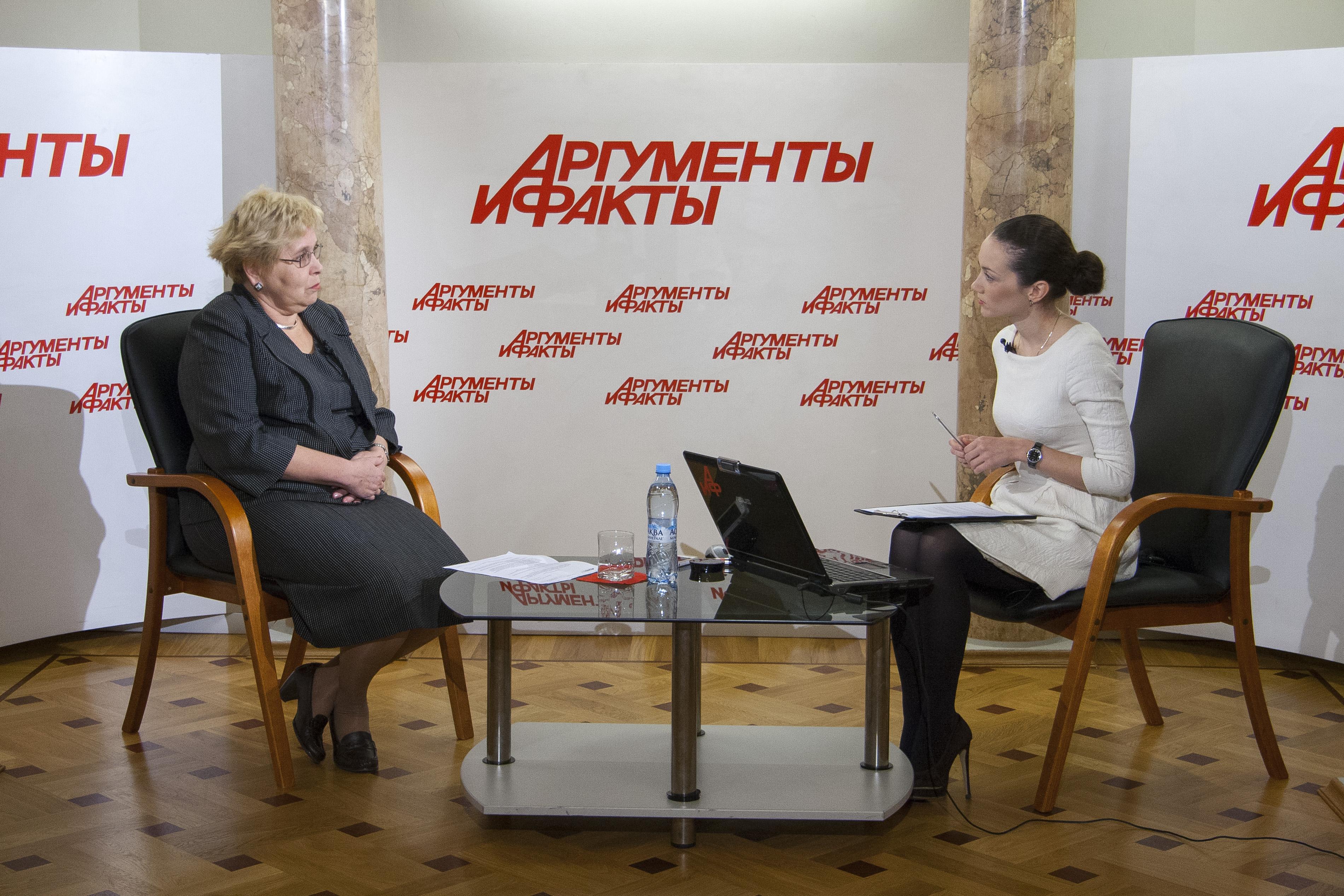 Интервью с директором лицея № 1535 Татьяной Воробьёвой