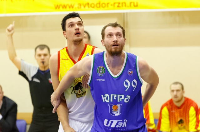 Антон Саяпин в матче с БК