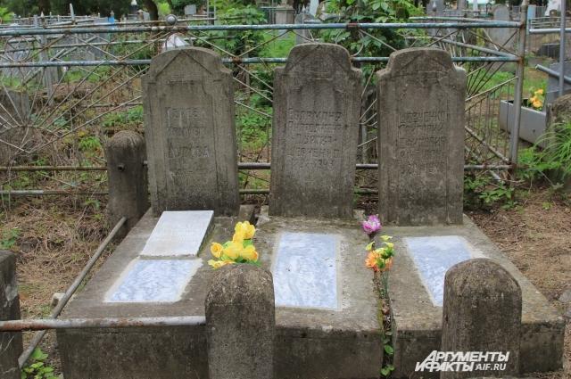 Семейное захоронение цирковых артистов Дуровых.