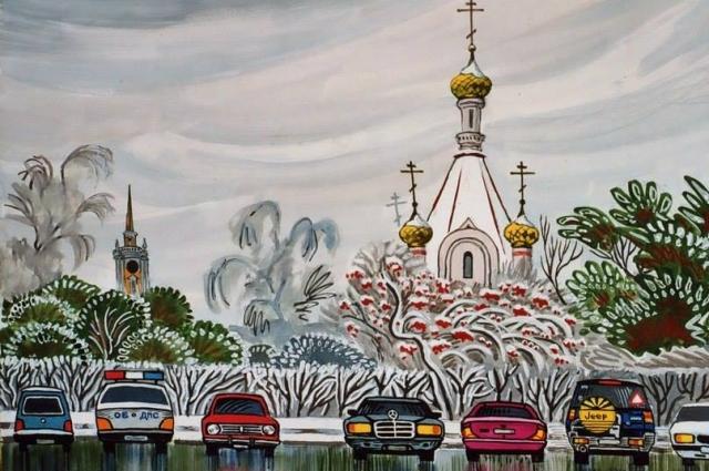 Часовня святой Екатерины на площади Труда.