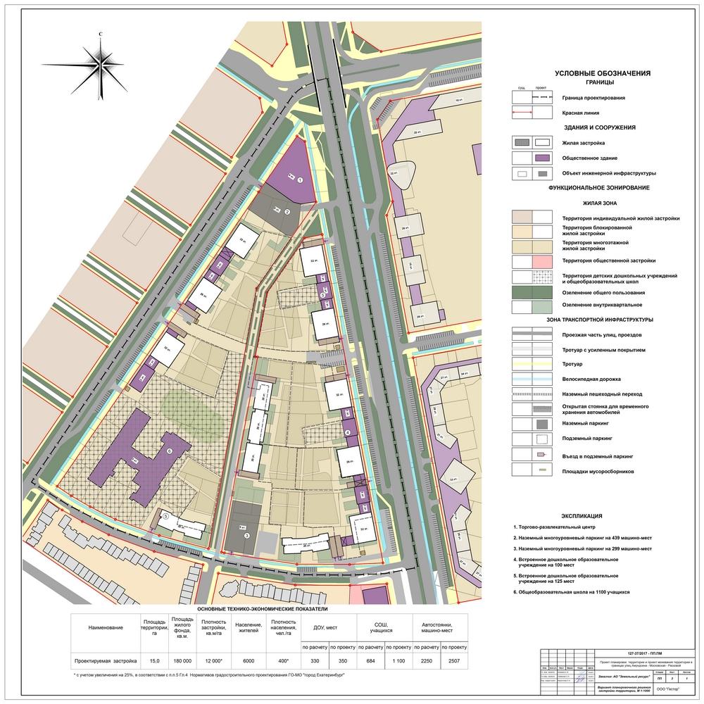 Проект застройки цыганского поселка на юго-западе Екатеринбурга