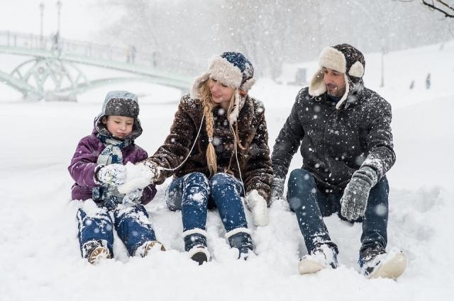 В зимние каникулы нужно проводить врем активно.