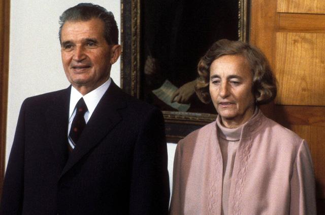 Николае и Елена Чаушеску, 1984 г. Фото:  www.globallookpress.com