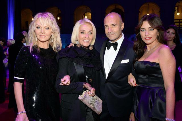 Валерия, Лайма Вайкуле, Игорь Крутой и его жена Ольга, 2013 год