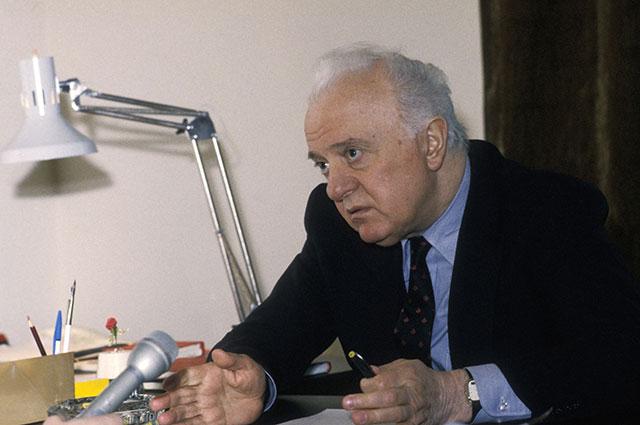 Эдуард Шеварнадзе.