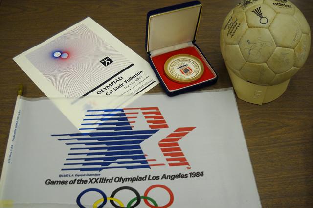 Сувениры с Олимпиады в Лос-Анджелесе
