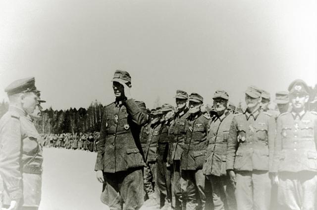 Капитуляция Курляндской группировки немецкой армии. 1945 год
